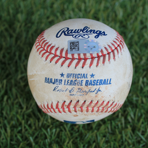 Photo of Game-Used Baseball: Josh Bell 83rd Career Home Run (PIT @ KC 9/11/20)