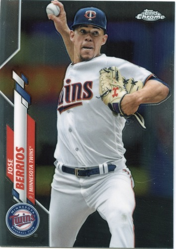 Photo of 2020 Topps Chrome #125 Jose Berrios