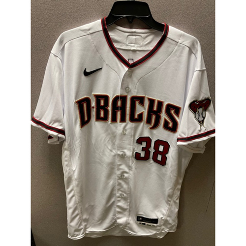 Photo of Robbie Ray 2020 Team-Issued Home Primary Jersey (Size 46T)