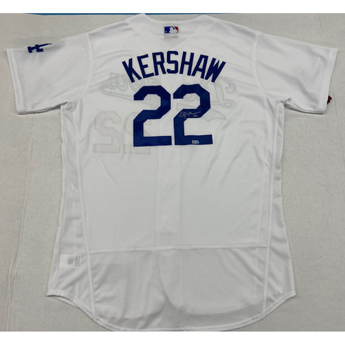 Photo of Clayton Kershaw Authentic Autographed Jersey