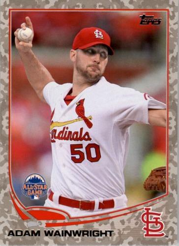 Photo of 2013 Topps Update Camo #US93 Adam Wainwright