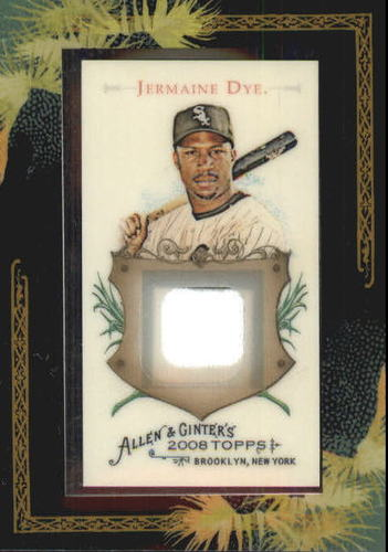 Photo of 2008 Topps Allen and Ginter Relics #JTD Jermaine Dye Jsy C