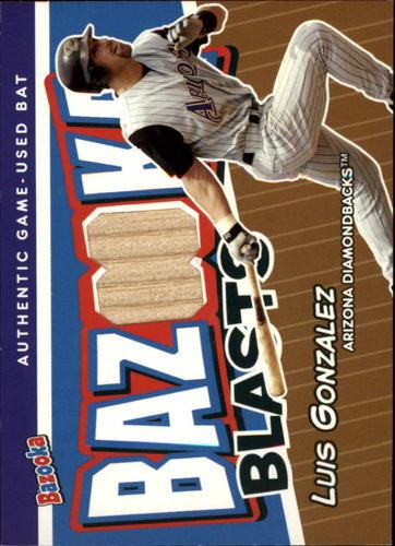 Photo of 2004 Bazooka Blasts Bat Relics #LG Luis Gonzalez A