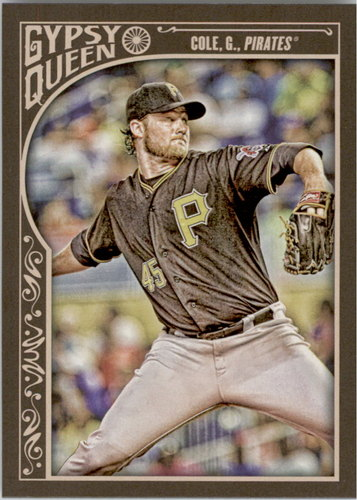 Photo of 2015 Topps Gypsy Queen #80 Gerrit Cole