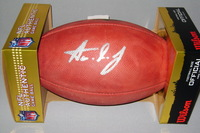 NFL - PACKERS AARON JONES SIGNED AUTHENTIC FOOTBALL
