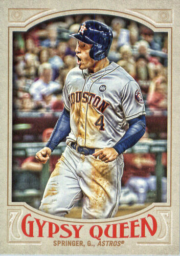 Photo of 2016 Topps Gypsy Queen #123 George Springer