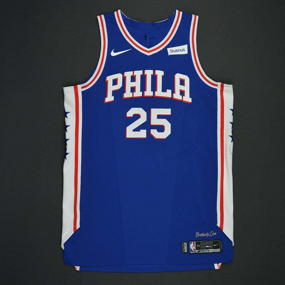 lowest price 09cba 04f30 Ben Simmons - Philadelphia 76ers - Kia NBA Tip-Off 2017 ...