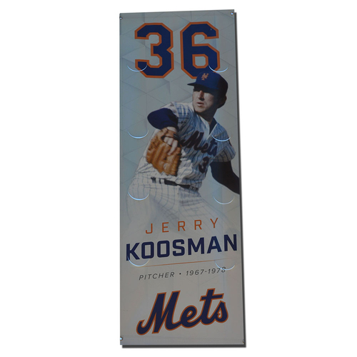 Photo of Jerry Koosman - Citi Field Banner - 2017 Season