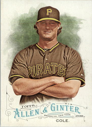Photo of 2016 Topps Allen and Ginter #157 Gerrit Cole