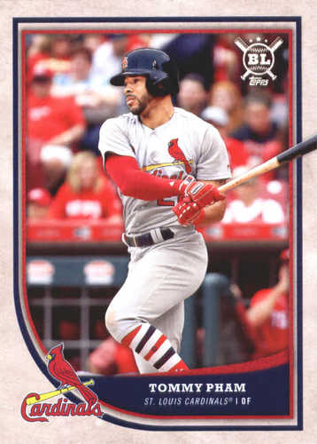 Photo of 2018 Topps Big League #107 Tommy Pham