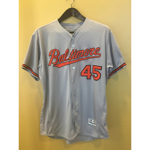 Photo of Mark Trumbo - Road Jersey: Game-Used