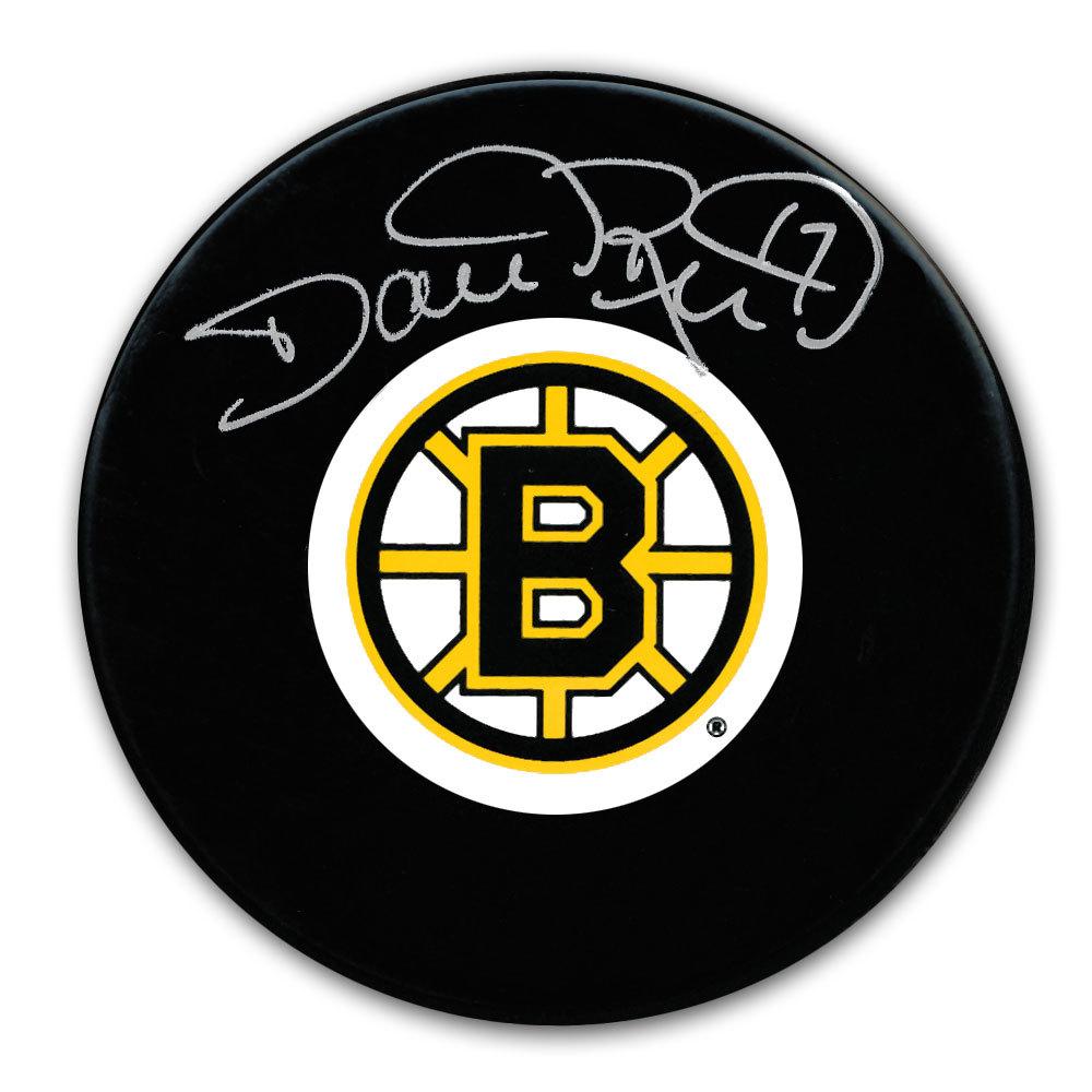 Dave Reid Boston Bruins Autographed Puck