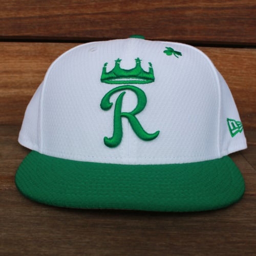 Photo of Game-Used Saint Patrick's Day Cap: Mike Jirschele (KC @ SF - 3/17/19  - Size 7 5/8)