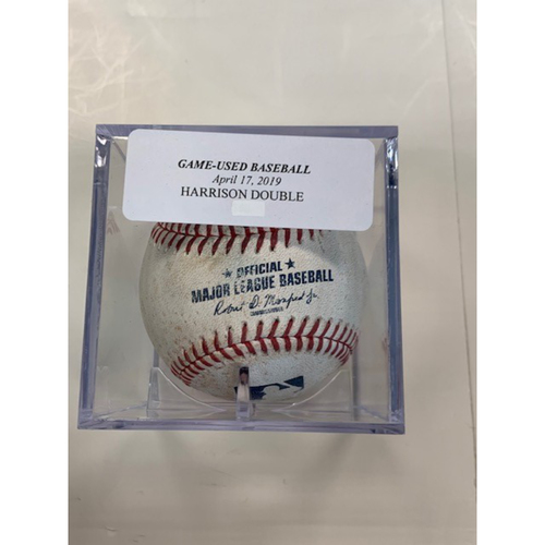 Photo of Game-Used Baseball: Josh Harrison Double