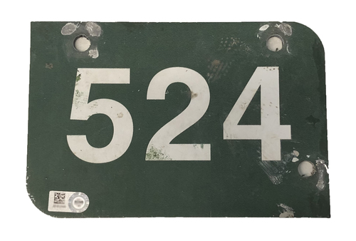 Photo of Wrigley Field Collection -- Aisle Marker 524 -- Removed after 2018 Season