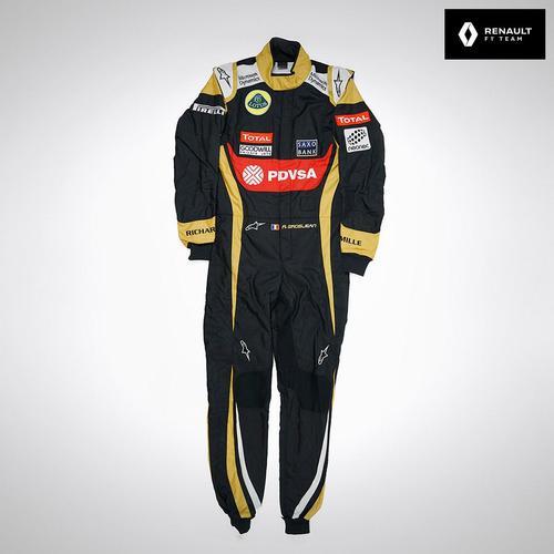 Photo of Romain Grosjean 2015 Replica Race Suit - Lotus F1 Team