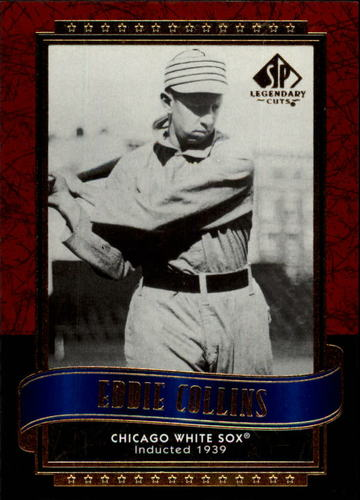 Photo of 2003 SP Legendary Cuts #36 Eddie Collins
