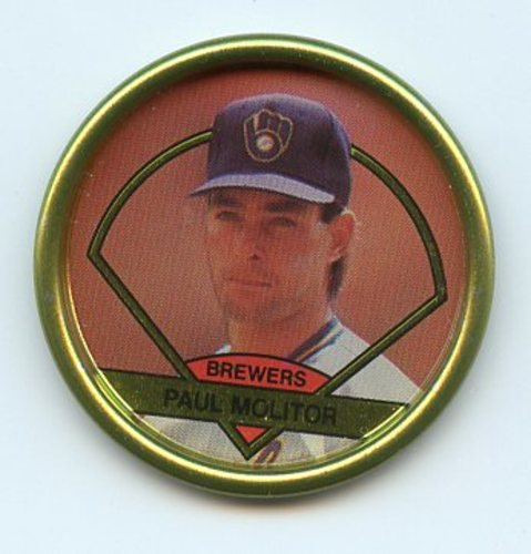 Photo of 1990 Topps Coins #23 Paul Molitor