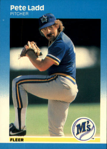 Photo of 1987 Fleer #588 Pete Ladd