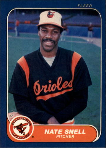 Photo of 1986 Fleer #288 Nate Snell