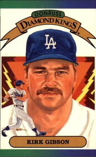 Photo of 1989 Donruss #15 Kirk Gibson DK