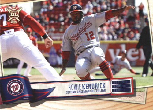 Photo of 2019 Topps Big League #324 Howie Kendrick