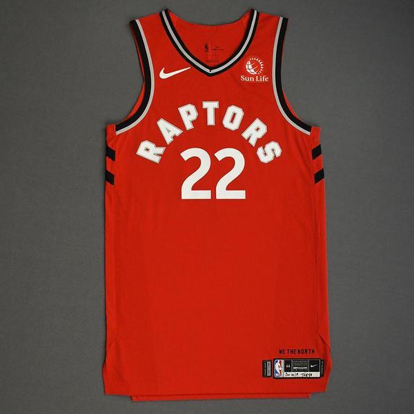 Image of Patrick McCaw - Toronto Raptors - Game-Worn Icon Edition Jersey - NBA Japan Games - 2019-20 NBA Season