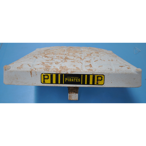 Game-Used Base - CLE at PIT - 8/19/20 - 2nd Base, Innings 1-3
