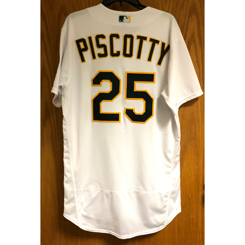 Photo of Game-Used 2020 Jersey - Stephen Piscotty