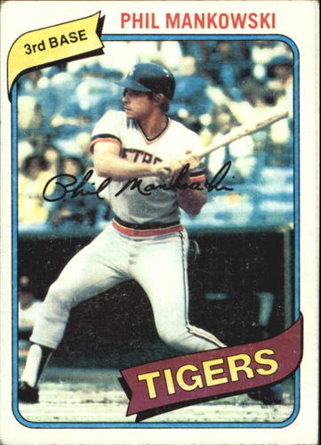 Photo of 1980 Topps #216 Phil Mankowski