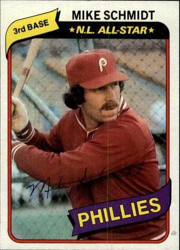 Photo of 1980 Topps #270 Mike Schmidt DP