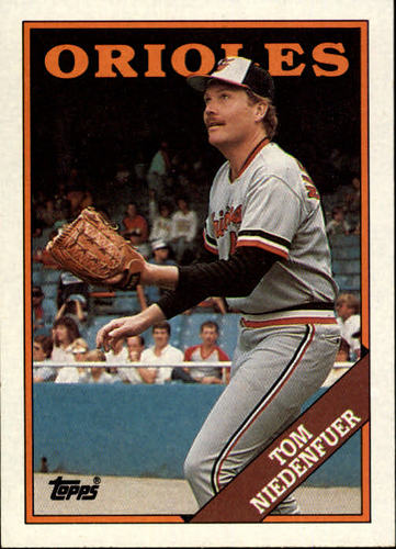 Photo of 1988 Topps #242 Tom Niedenfuer