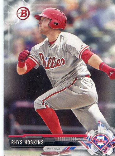 Photo of 2017 Bowman Prospects #BP117 Rhys Hoskins