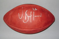COLTS - VICK BALLARD SIGNED AUTHENTIC FOOTBALL