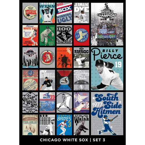 Photo of Chicago White Sox Notecards - Set 3 - Orders placed on or after December 18 will be shipped on January 3, 2019