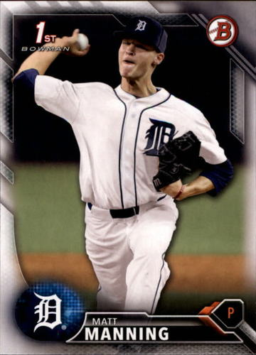 Photo of 2016 Bowman Draft #BD30 Matt Manning -- Ranked #55 of MLB's Top 100 Prospects