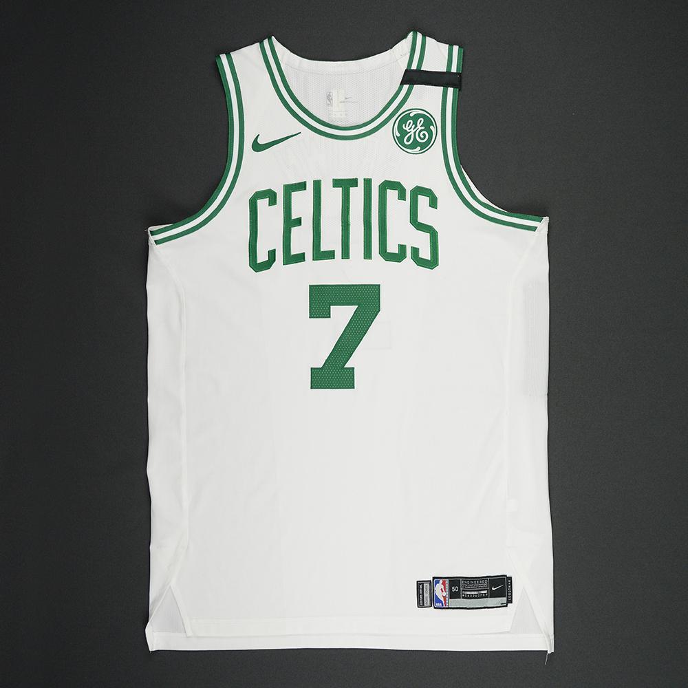 Jaylen Brown - Boston Celtics - 2018 NBA Playoffs Game-Worn Jersey