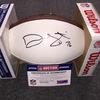 NFL - Cardinals Deuce Lutui signed panel ball (Smudged signature)