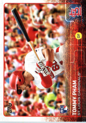 Photo of 2015 Topps Update #US13 Tommy Pham Rookie Card