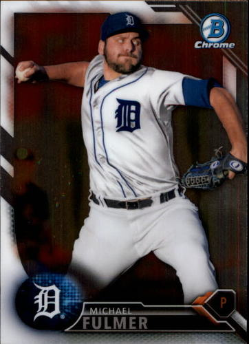 Photo of 2016 Bowman Chrome Prospects #BCP91 Michael Fulmer