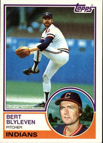 Photo of 1983 Topps #280 Bert Blyleven