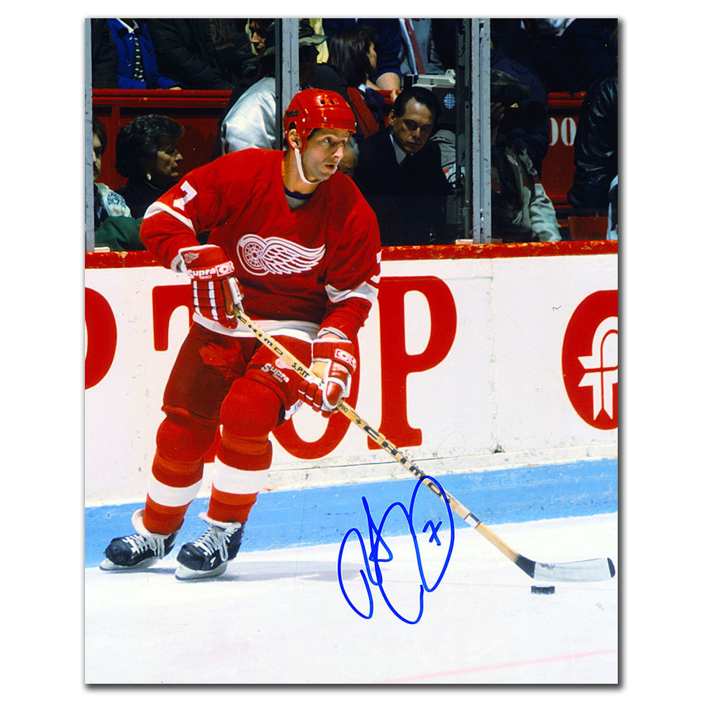 Robert Picard Detroit Red Wings BREAKOUT Autographed 8x10