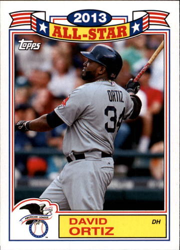 Photo of 2014 Topps Archives '87 All-Stars #87DO David Ortiz