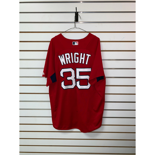 Photo of Steven Wright Team Issued Home Batting Practice Jersey
