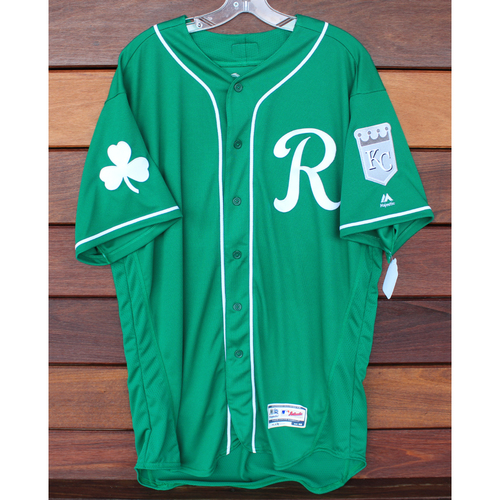 Photo of Team-Issued St. Patrick's Day Jersey: Samir Duenez (Size - 48)
