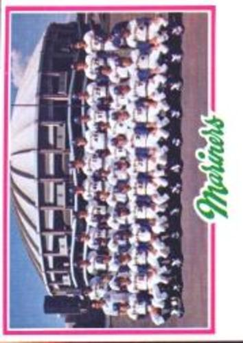 Photo of 1978 Topps #499 Seattle Mariners CL