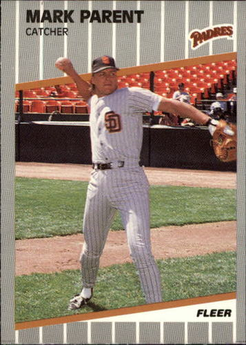Photo of 1989 Fleer Update #125 Mark Parent RC