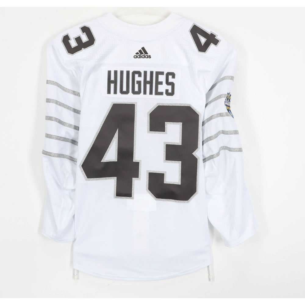 Quinn Hughes Vancouver Canucks Game-Used 2020 All-Star Game Jersey