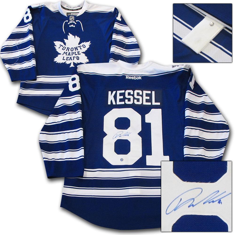 new styles 9d270 4b395 Phil Kessel Autographed Toronto Maple Leafs 2014 Winter ...