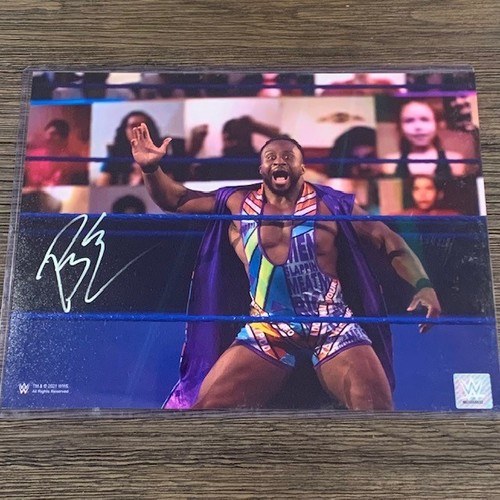 Photo of Big E SIGNED 11x14 Photo (In Ring)